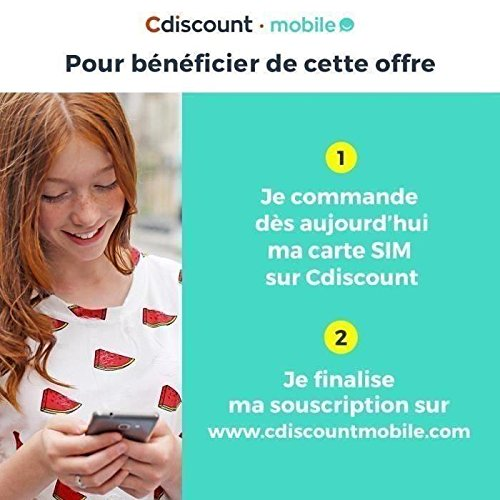 Carte Sim Cdiscount.Carte Sim Cdiscount Mobile Amazon Fr High Tech
