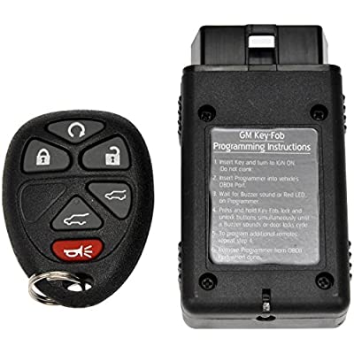 Dorman 99156 Keyless Entry Transmitter for Select Cadillac/Chevrolet/GMC Models, Black (OE FIX): Automotive