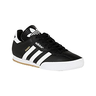 e98bb373ffc8 adidas Mens Samba Super Trainers Lace Up Training Leather Upper Sport  Shoes  Amazon.co.uk  Shoes   Bags