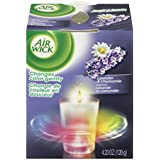 Air Wick Color-Changing Scented Candle, Lavender and Chamomile, 4.23 Ounce