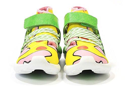 Mens Jeremy Scott Tubular In Giallo / Verde Di Adidas