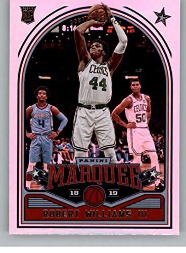 - 2018-19 Panini Marquee #252 Robert Williams III Boston Celtics Rookie Basketball Card