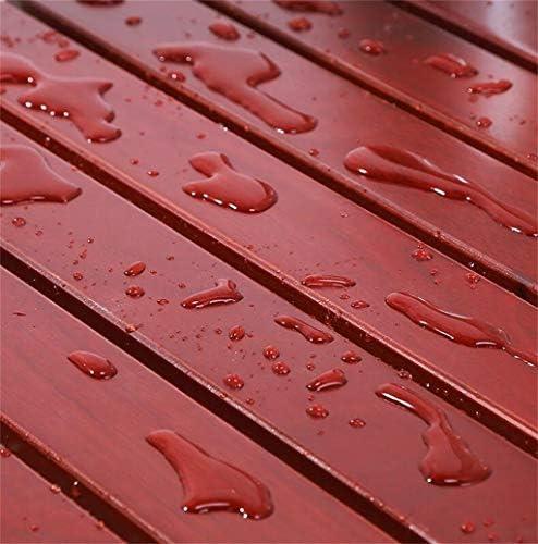 GUO Haushalt Rutschfester Duschhocker Faltwand Wannen-Hocker aus Massivholz Wand-Duschhocker älteren Schwangeren schwere rutschfeste Badehocker Duschhocker Kreative multifunktionale Duschhocker