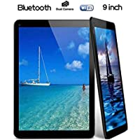 Tiptiper UK plug 9 inch Android Tablet PC A33 Quad Core 16GB 1.5GHz 1080P TFT Screen Black With Wifi Bluetooth