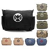 Marvel Agents of Shield Logo Durable Military School Book Laptop Messenger Bag