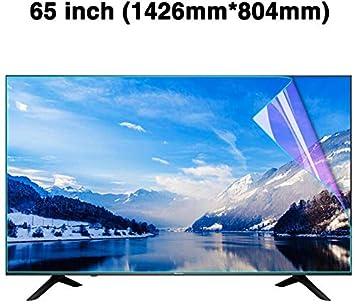 DPPAN 65 Pulgadas Anti Luz Azul TV Protección de Pantalla para ...