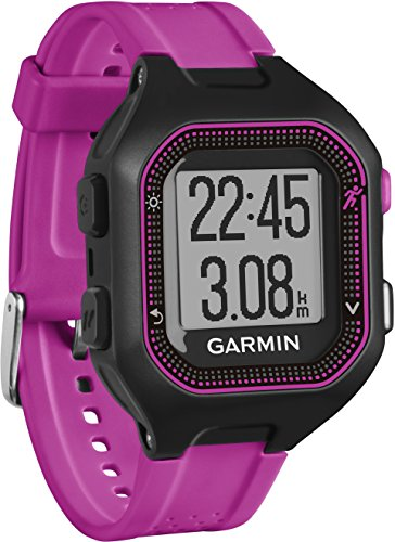 Click to buy Garmin 010-01353-70 Garmin Forerunner 25 (small) Black/Purple Bundle with Chest strap HRM Europe Version - From only $392