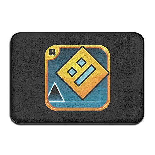 Geometry Dash Icon Non-Slip Entrance Indoor/Outdoor/Front...