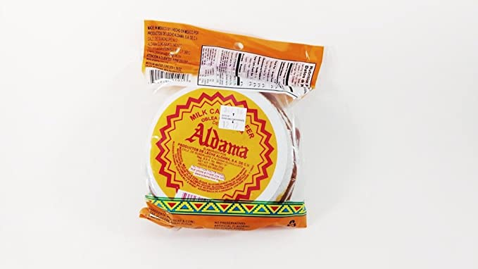 Amazon.com: Aldama Obleas Con Cajeta (Large Milk Candy Wafers) 5pc in Pack Mexican Candy with Free Chocolate Kinder Bar Included Valentines Day: Toys & ...