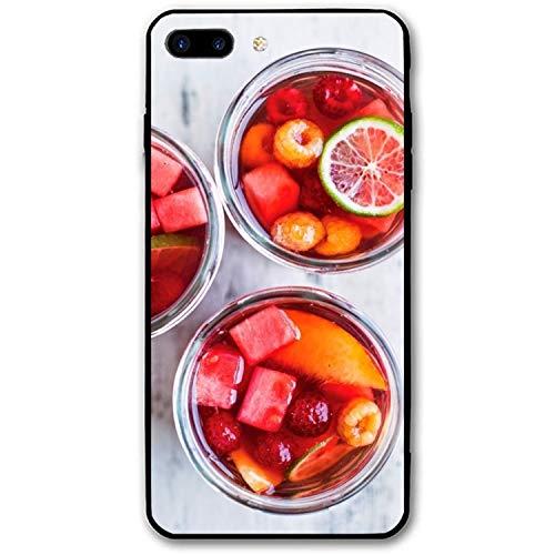 iPhone 8 Plus Case, Recipes Fruit Printed Clear Design Case TPU Bumper Protective Case Cover iPhone 8 Plus -