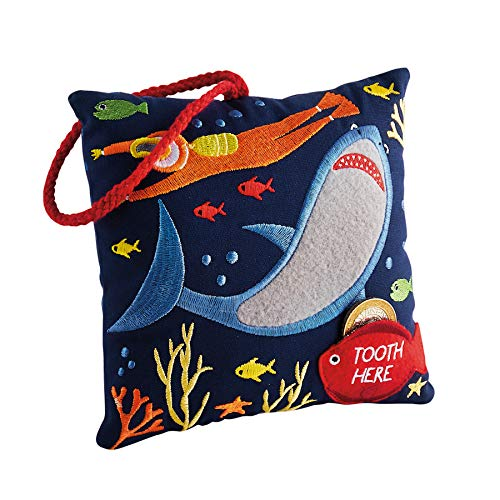 Floss and Rock Deep Sea Tooth Fairy Cushion ()