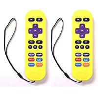 2-Pack Amaz247 ARCBZ01 Replacement Remote for Roku 1, Roku 2, Roku 3, Roku 4, (HD, LT, XS, XD), MLK247 Streaming Player; DO NOT Support Roku Stick or Roku TV or MLK247 TV