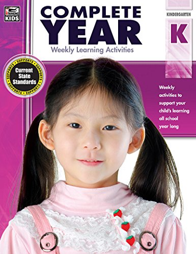 Complete Year, Grade K: Weekly Learning Activities by Thinking Kids