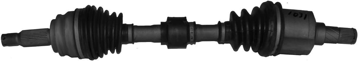 Compass Patriot CVT or Manual Detroit Axle Complete Front Driver Side CV Axle Shaft for Caliber