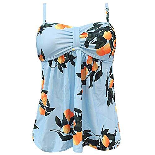 Bare Sheer Set (Women's One Piece Skirtini Swimsuits Plus Size Swimwear Cover up Swimdress Bathing Suits Bikini Set (XL, Light Blue))