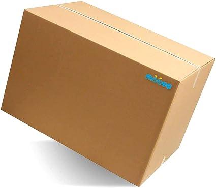 moove cajas de cartón Doble Onda tamaño Grande 60 x 40 x 40 cm ...