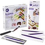 Wilton How to Make A Checkerboard Cake Set, 10-Piece, Cake Decorating Supplies