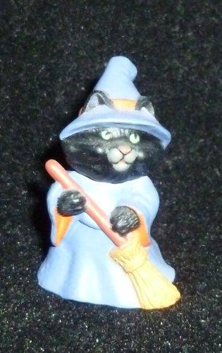 Hallmark Merry Miniature Halloween Raccoon Witch Figurine -