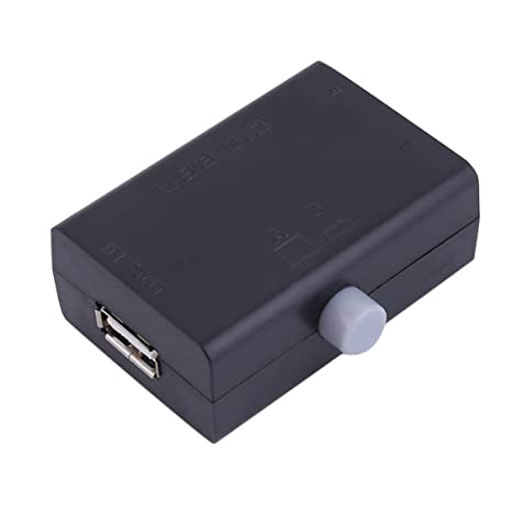 Vige Negro ABS Universal Mini USB Compartir Share Switch Box ...