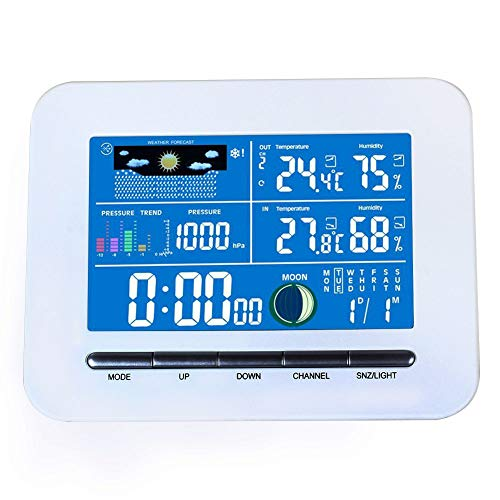 Home Weather Station Wireless - Portable Wireless Lcd Digital Display Weather Station Indoor Thermometer Humidity Clock Use - Thermometer Indoor Temperature Humidity Clock