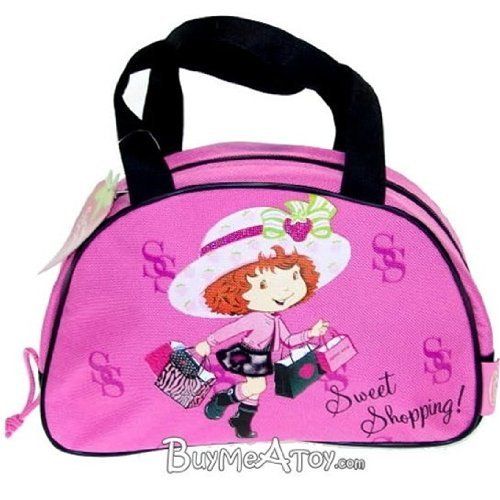 Strawberry Shortcake Girls Handbag Purse- sweet shopping