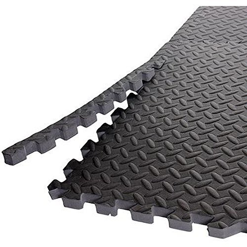 Cheap Gold's Gym High Impact Flooring Puzzle Mat, 6 Pieces