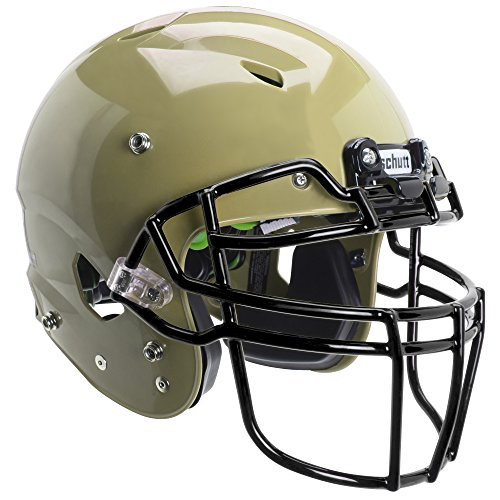 Schutt Sports Vengeance A3+ Youth Football Helmet (Facemask NOT Included), Metallic Vegas Gold, Small ()