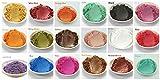 15-Color Pigments Shimmer Mica - ASIN (B071ZQ4DHN)