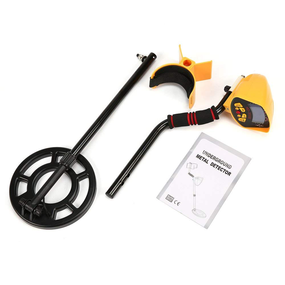 MD3010II Metal Detector sotterraneo tenuto in Mano Treasure Hunter oro Finder