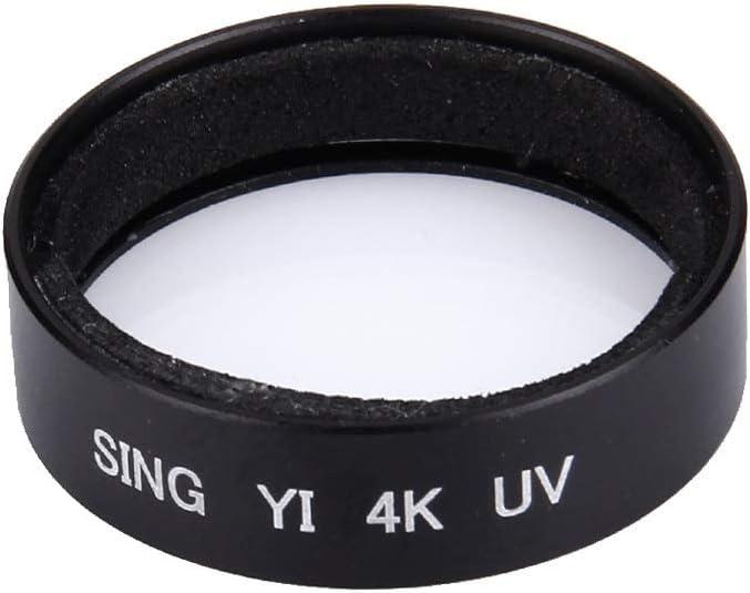 Black CYcaibang Lens Accessories Sing for Xiaomi Xiaoyi Yi II Sport Action Camera Proffesional 4K UV Filter