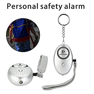Emergency Security Alarm Keychain with LED Flashlight - personal safety