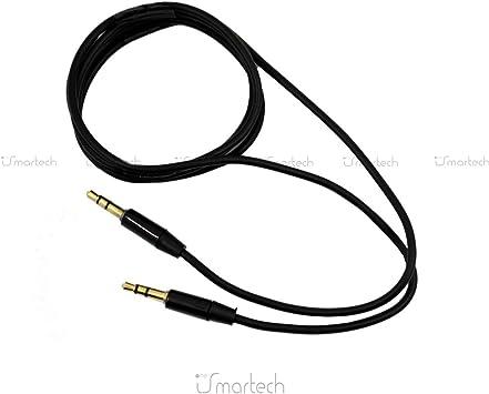 1neiSmartech Cable De Audio Auxiliar Doble Jack Macho De 3,5 Mm ...