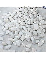 White Garden Decoration Stones 10kg