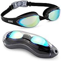 Aegend Swim Goggles, Swimming Goggles with Streamline...