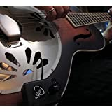 RESONATOR GUITAR PICKUP with FLEXIBLE MICRO-GOOSE NECK by Myers Pickups ~ See it in ACTION! Copy and paste: myerspickups.com
