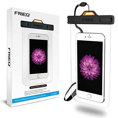 FRiEQ Universal Waterproof Case with Completely Transparent