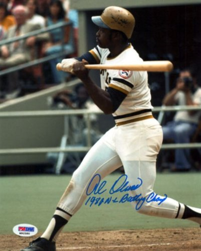 AL OLIVER AUTOGRAPHED 8X10 PHOTO PITTSBURGH PIRATES