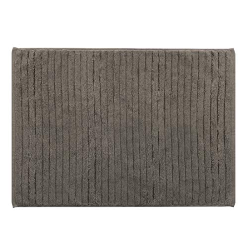Embrace Carpet Tiles - uxcell Bath Mat Rug 28 inches x 20 inches Cotton Washable Non-slip Absorbent for Bathroom Kitchen Door Shoe Rack Gray