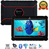 "Contixo Kids Tablet K2 | 7"" Display Android 6.0 Bluetooth WiFi Camera Parental Control Children Infant Toddlers w/Free Tablet Case (Black)"