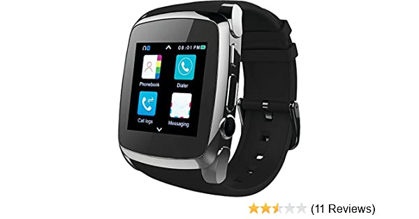 Amazon.com: SuperSonic Bluetooth Smart Watch with Call Feature: SUPERSONIC: Cell Phones & Accessories