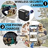 Spy Camera Wireless Hidden WiFi Charger Camera with