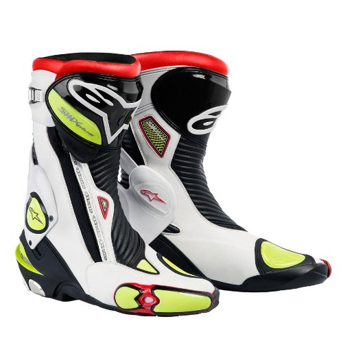- Alpinestars S-Mx Plus Boots White Black Red Yellow Eu 37