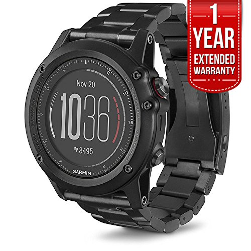 Click to buy Garmin fenix 3 HR Activity Tracker (HRM) (Titanium Band) 1 Year Extended Warranty - From only $799.99