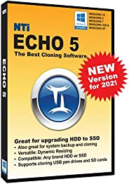 NTI Echo 5 | New Version! | Available in Download and CD-ROM | The Best Cloning Software. It Simply Works | Ma