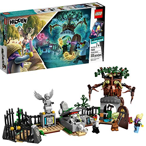 LEGO Hidden Side Graveyard Mystery 70420 Building Kit, App Toy for 7+ Year Old Boys and Girls, Interactive Augmented Reality Playset, New 2019 (335 Pieces) from LEGO