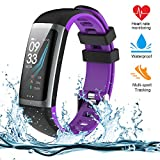 Teamyo Fitness Tracker, Activity Tracker Watch with Heart Rate Monitor, Color Screen Smart Bracelet with Sleep Monitor, IP67 Waterproof Smart Bracelet for Android and iOS