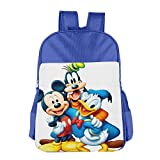 Mickey Donald Goofy The Three Musketeers School Backpack RoyalBlue