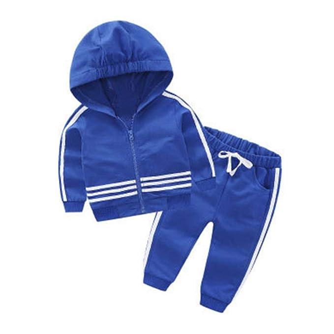 Niños Conjuntos Casual de 2 Piezas Pullover y Pantalones Primavera ...
