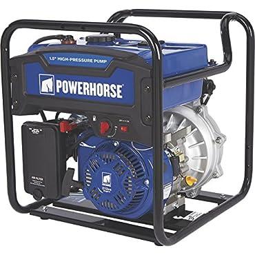 Powerhorse Extended Run High-Pressure Water Pump 6,000 GPH, 1 1/2in Ports (750130)