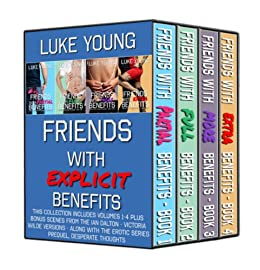 Friends With Explicit Benefits Boxed Set by [Young, Luke, Dalton, Ian]